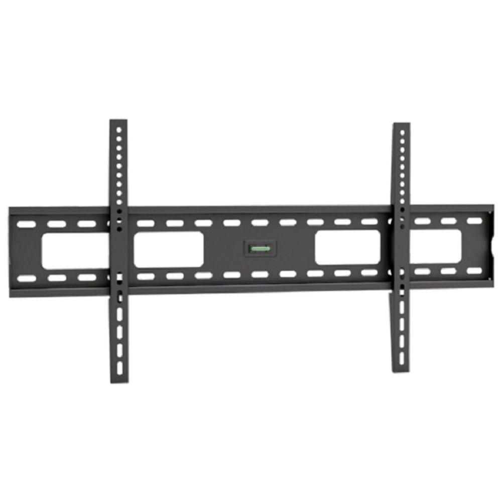 Homevision Technology TygerClaw Fixed Wall Mount for 37 in. - 63 in. Flat Panel TV, Black Give your TV the perfect spot in the wall with this Fixed Wall Mount. This mount is constructed with cold steel material to maximize the durability and support. This mount is the best solution for mounting TV on the wall without any hesitation. Color: Black.