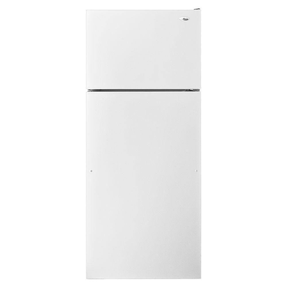 Amana 17.6 cu. ft. Top Freezer Refrigerator in White-DISCONTINUED