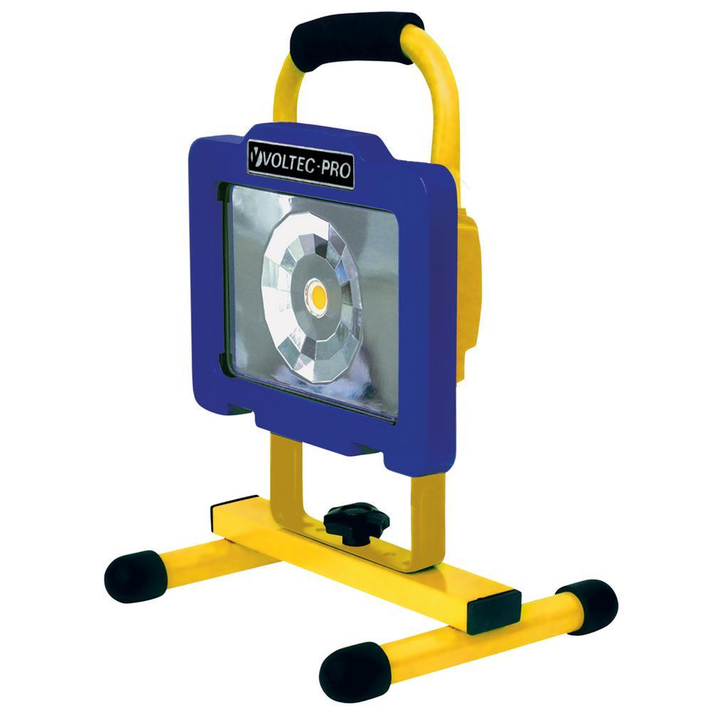 12 Watt Rechargeable Portable Led Work Light For Workshop: Voltec 12-Watt Rechargeable COB LED Work Light-08-00717