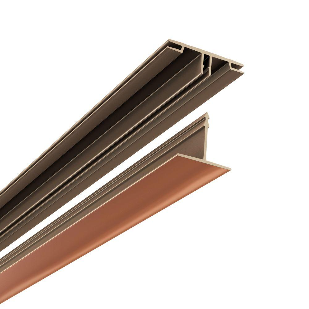 Ceilingmax 100 sq. ft. Ceiling Grid Kit in Polished Copper