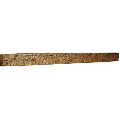 2 in. x 48-1/4 in. x 3 in. Saturn Urethane Universal Trim for Stone and Rock Wall Panels