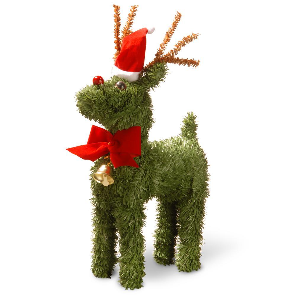 12 in. Evergreen Reindeer