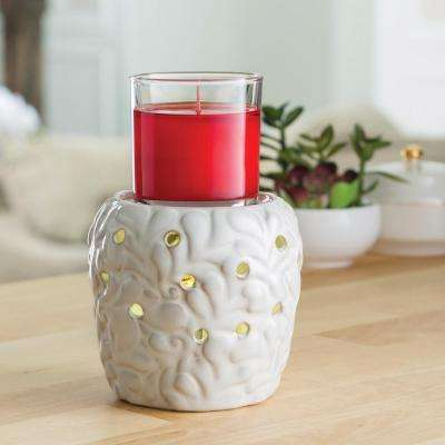 7.3 in. Vienna 2-in-1 Flickering Fragrance Warmer