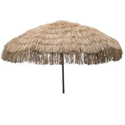 Palapa 7.5 ft. Aluminum Patio Umbrella in Whiskey Brown