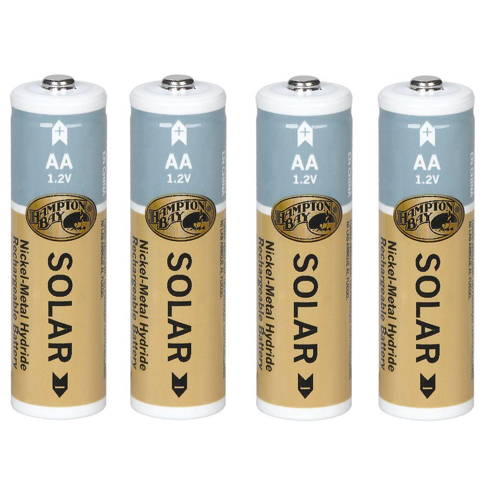 Rechargeable Battery 4 Pack 1200 Mah Nickel Metal Hydride
