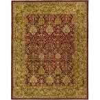 Persian Legend Red/Gold 5 ft. x 8 ft. Area Rug
