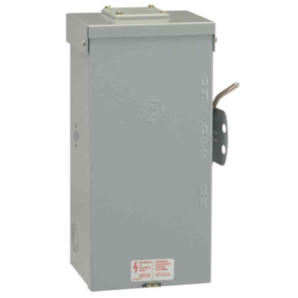 200 amp 3 phase outdoor manual transfer switch cutler hammer brand.