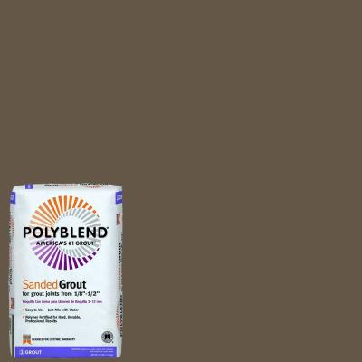 Polyblend #52 Tobacco Brown 25 lb. Sanded Grout
