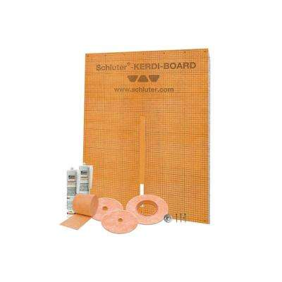 Kerdi-Board-Kit Wall Surround Waterproofing Kit