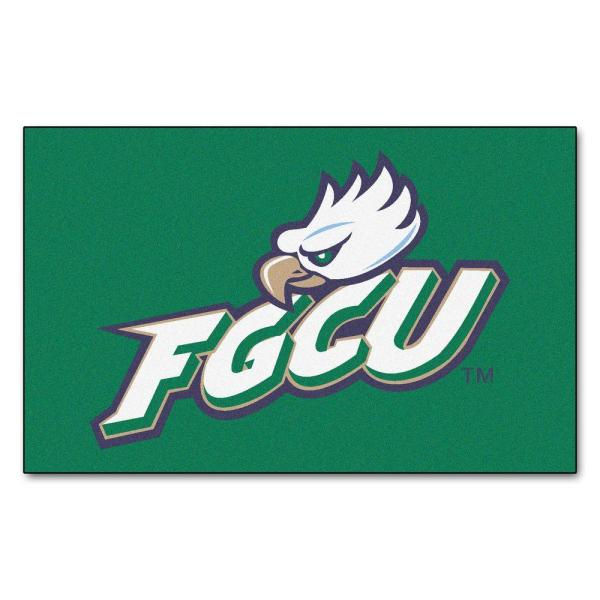 NCAA Florida Gulf Coast University Green 5 ft. x 8 ft. Area Rug