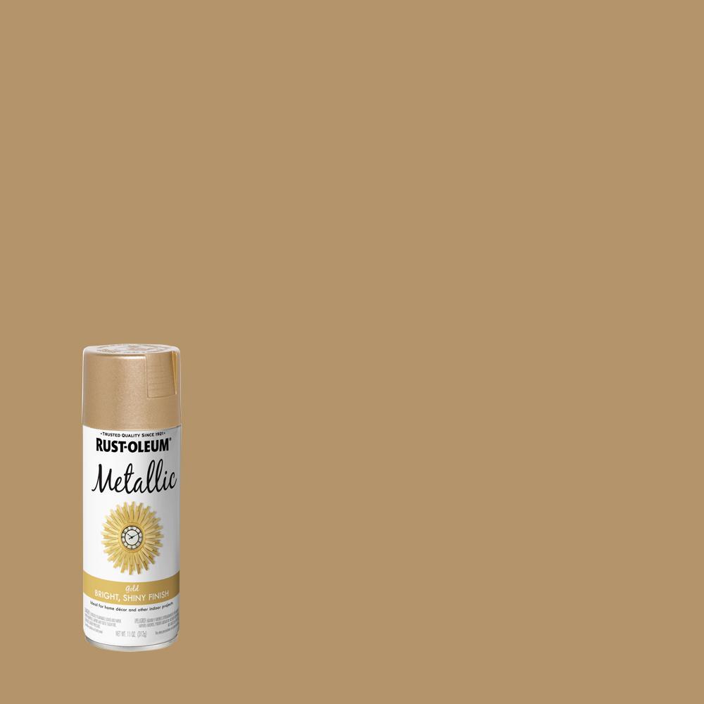 Rust-Oleum Specialty 11 oz. Metallic Gold Spray Paint