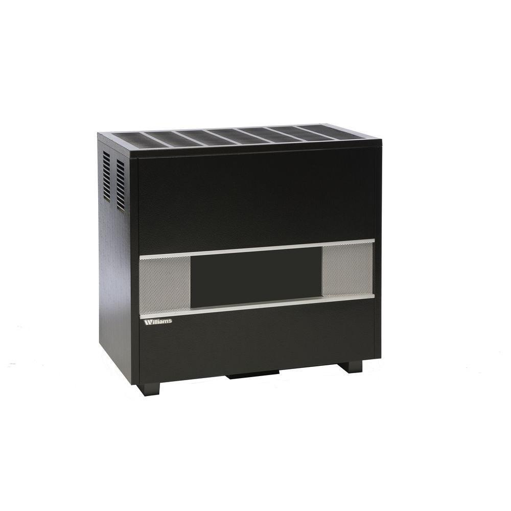 Williams 65,000 BTU/Hr Fireplace-Log Front Console Propane Gas Room Heater