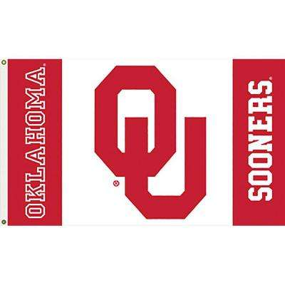 NCAA Oklahoma University 3 ft. x 5 ft. Collegiate 2-Sided Flag with Grommets