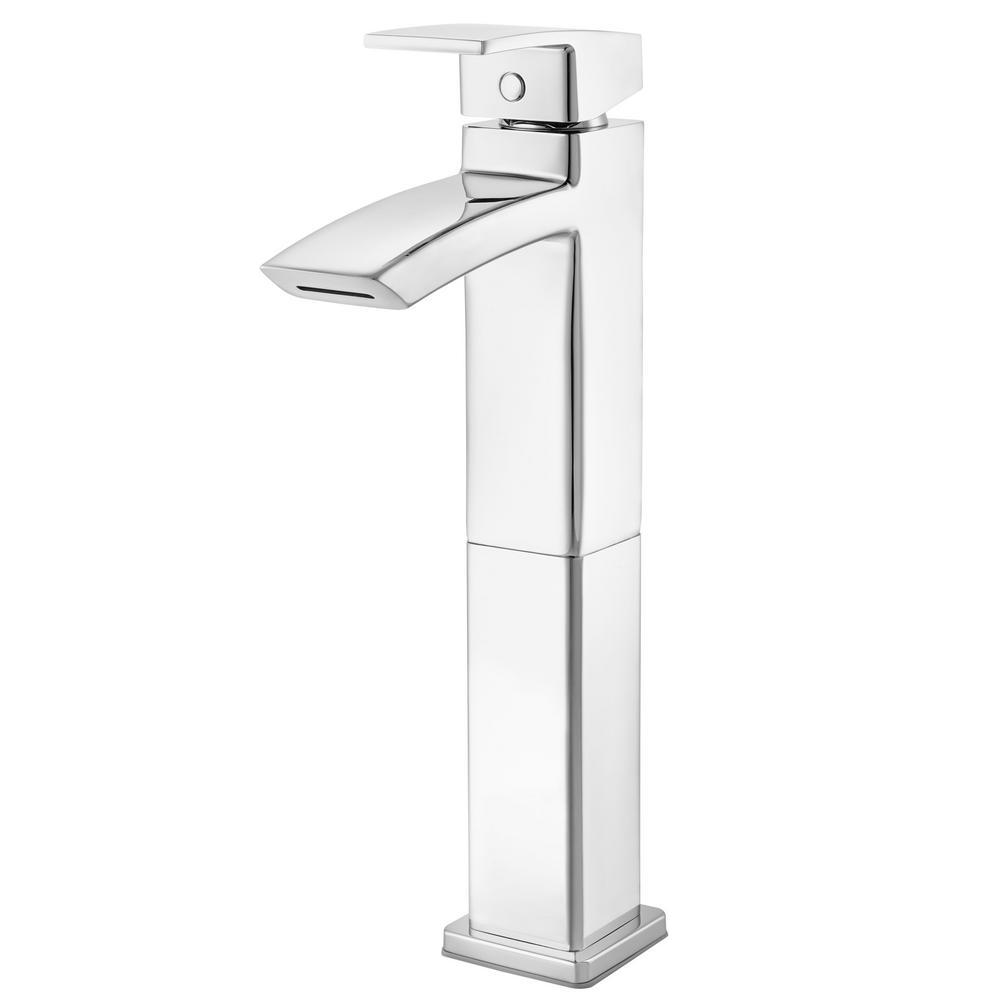 Kenzo Single-Handle Vessel Bathroom Faucet in Polished Chrome