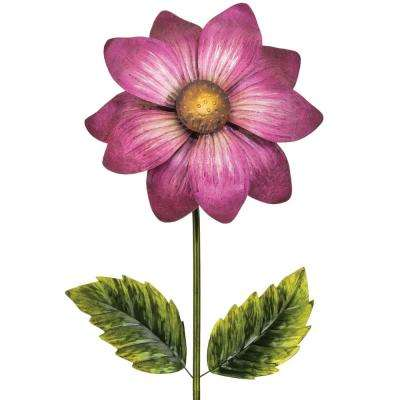 65 in. Giant Flower Stake - Magenta