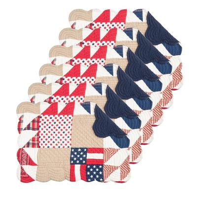 Levi Red Placemat (Set of 6)