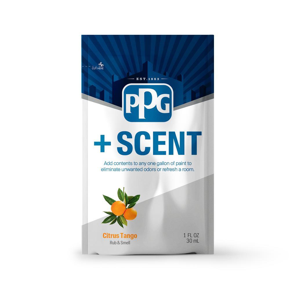 PPG PPG +Scent 1 oz. Citrus Tango Odor Control Paint Additive (Treats 1 Gal.)