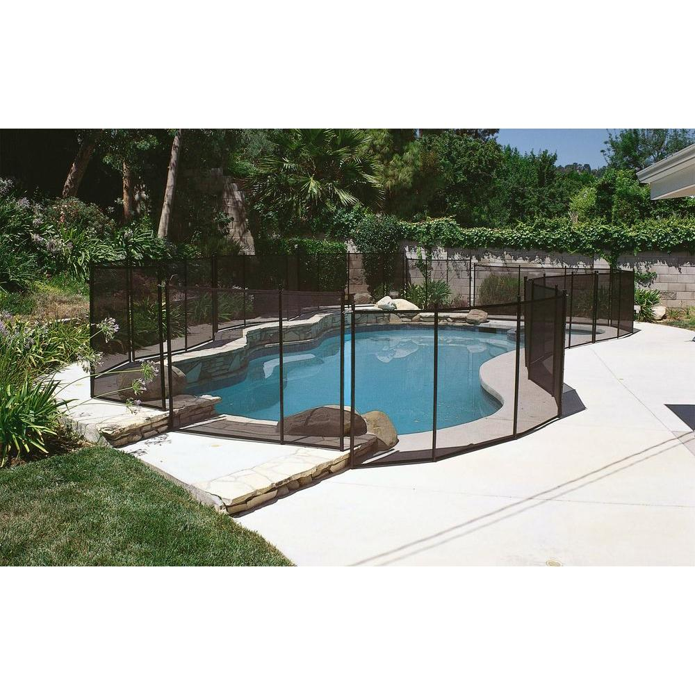 GLI Pool Products 4 ft. x 12 ft. Safety Fence for In-Ground Pools