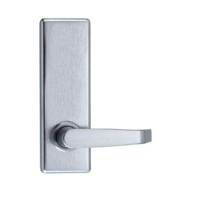Satin Chrome Escutcheon Passage Exit Device Trim Pull