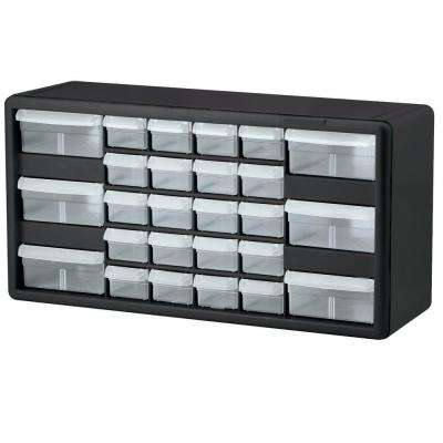 26-Compartment Small Parts Organizer Cabinet