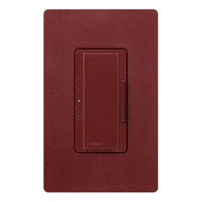 Maestro 600-Watt Multi-Location Digital Dimmer - Merlot