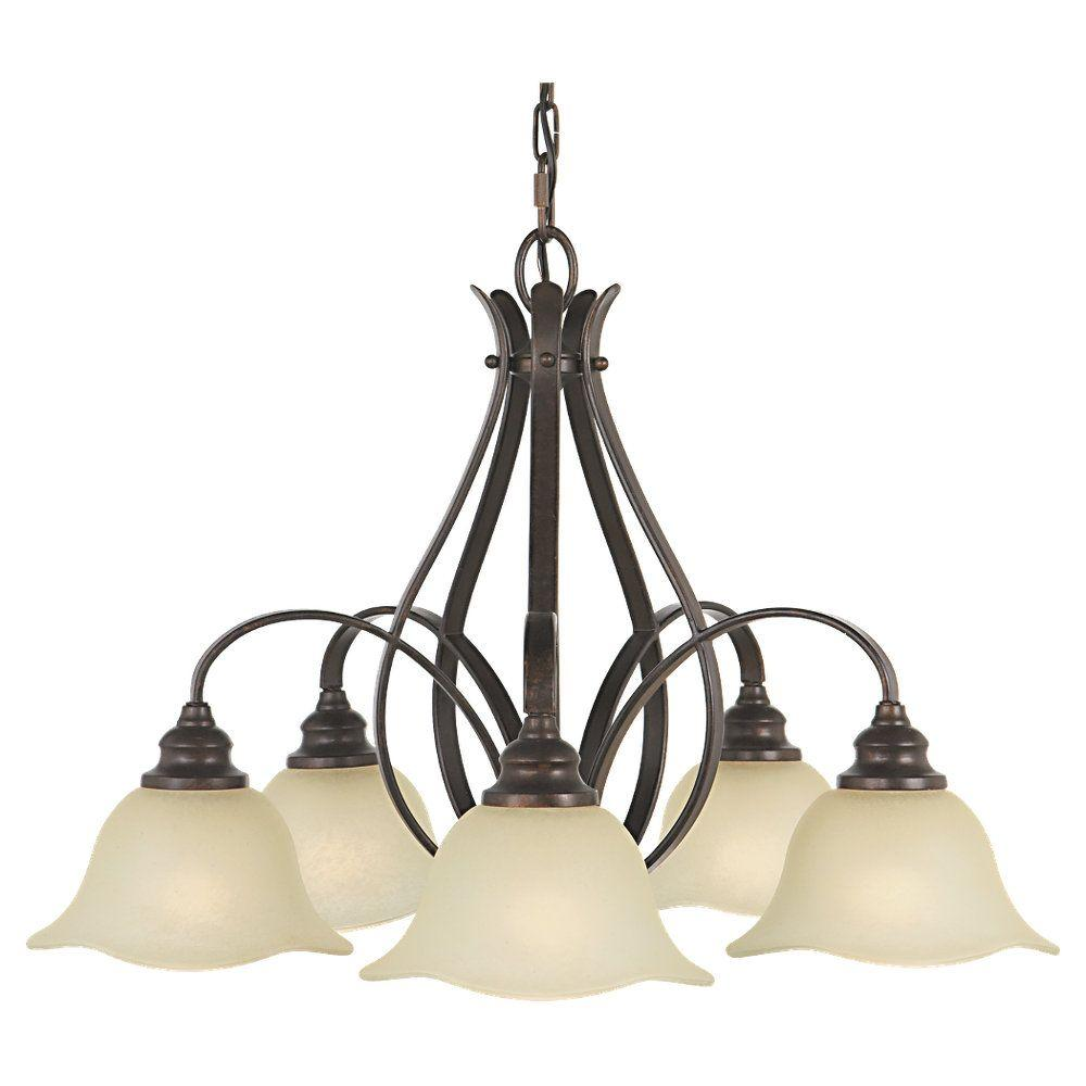 Feiss morningside 5 light grecian bronze kitchen chandelier with feiss morningside 5 light grecian bronze kitchen chandelier with glass shade f20505gbz the home depot arubaitofo Gallery