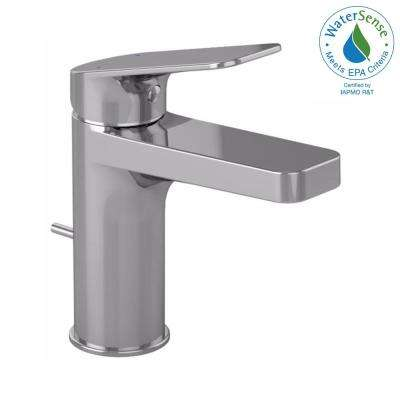 Oberon S Single Hole Handle Bathroom Faucet In Polished Chrome