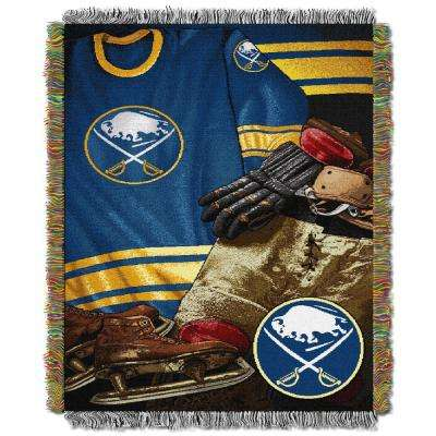 Sabres Multi Color Vintage Tapestry Throw