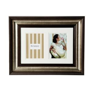 Bombay 20 inch x 16 inch Bronze 2-Opening Collage Picture Frame by Bombay