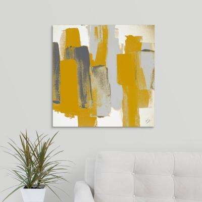 """Prevailing Gray Square II"" by  Lanie Loreth Canvas Wall Art"