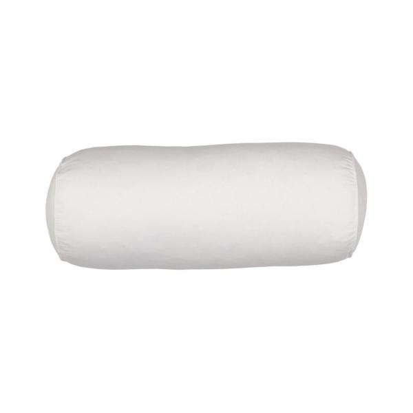 TCS Down Firm 6 in. x 15 in. Neckroll Pillow
