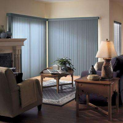 3.5 in. Curved Vinyl Vertical Blinds