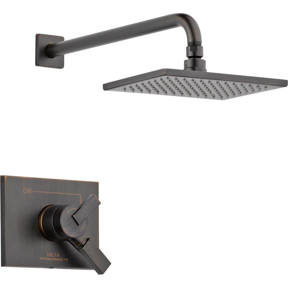 Merveilleux Delta Vero 1 Handle Shower Only Faucet Trim Kit In Venetian Bronze (Valve  Not