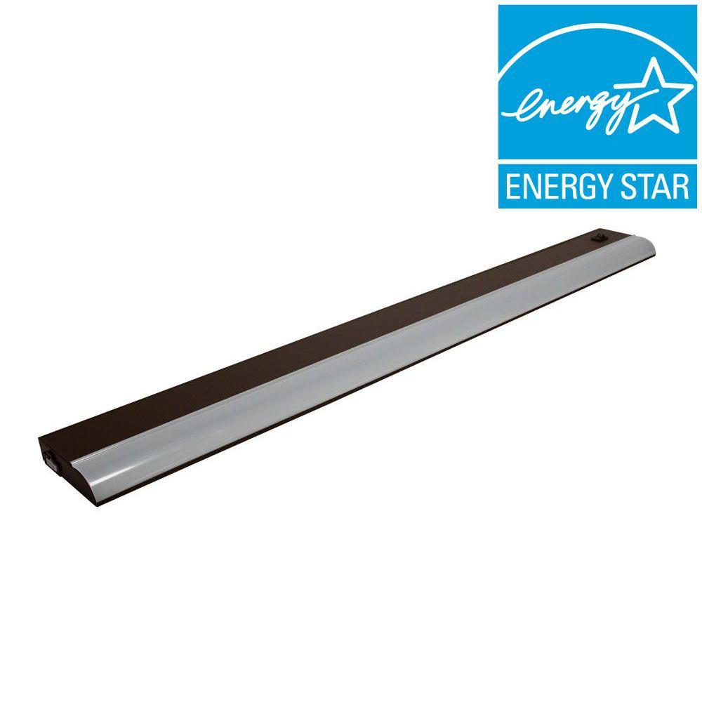 Irradiant 32 in. LED Dark Bronze Under Cabinet Light