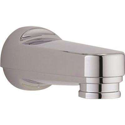 6 in. Bathtub Spout with Pull-Down Diverter for Delta in Chrome 1/2 in CWT (6 spouts per case)