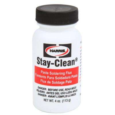 Stay-Clean 4 oz. Solder Paste