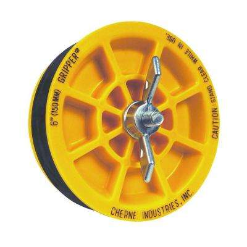 6 in. Gripper Mechanical Plug