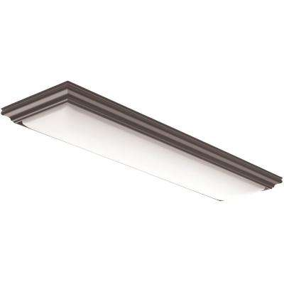 Vanderlyn 4 ft. Brown LED Flush Mount