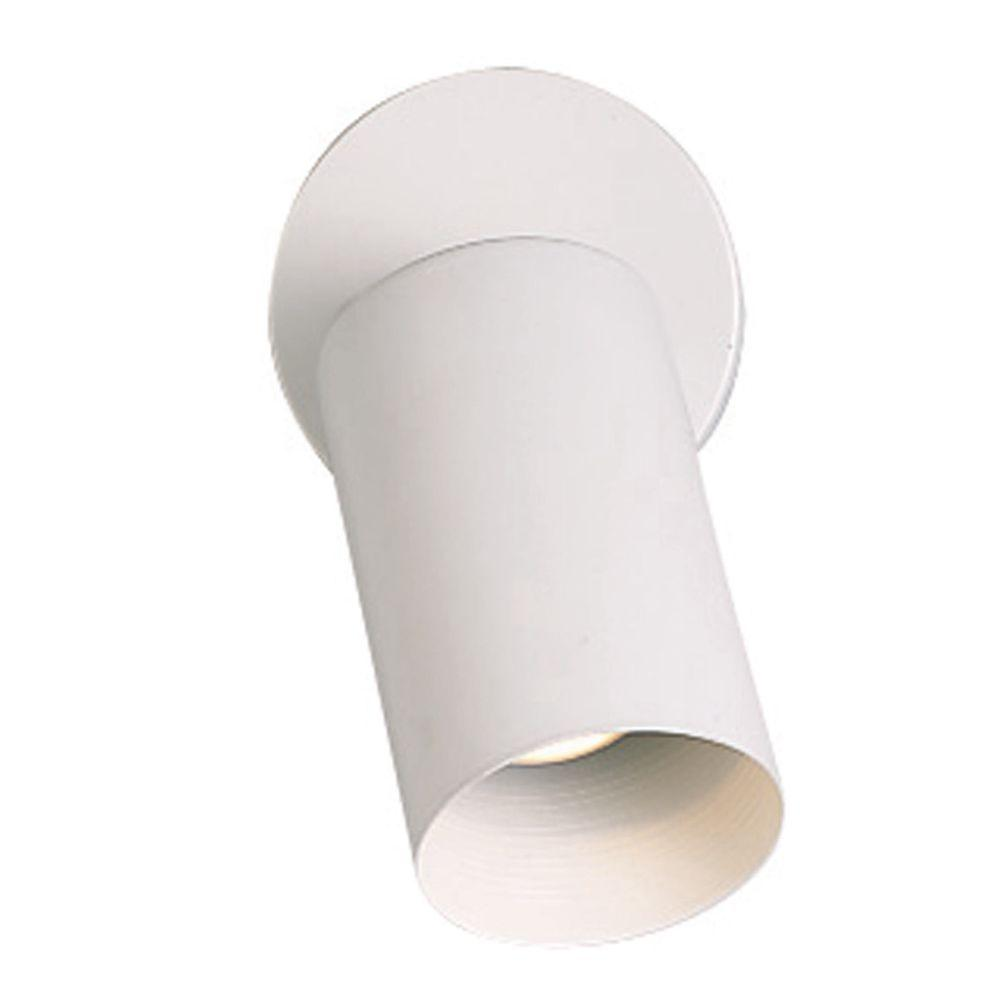 Thomas Lighting 1-Light Wall-Mount Matte White Spot Light-DISCONTINUED