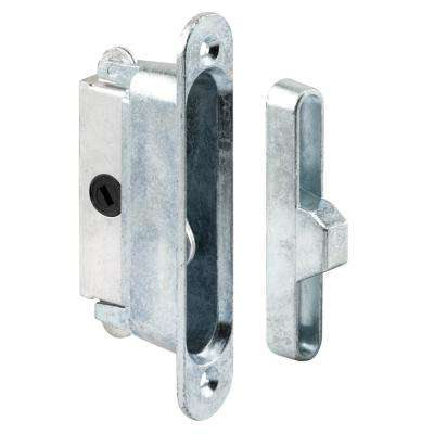 Deep Reach Sliding Door Lock and Keeper for Wood or Aluminum Door