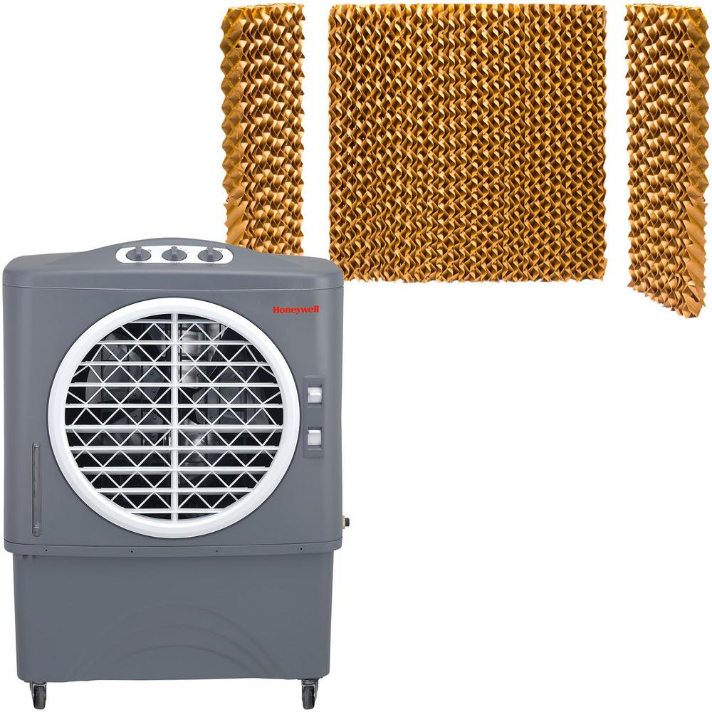 1062 CFM 3-Speed Portable Evaporative Air Cooler for 610 sq. ft.