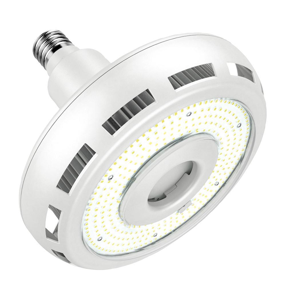 400-Watt Equivalent 90-Watt Corn Cob ED37 HID LED High Bay Bypass Light Bulb Mogul 120-Volt - 277-Volt in Daylight