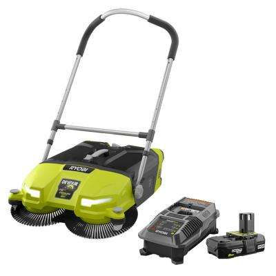 18-Volt ONE+ Cordless 4.5 Gal. DEVOUR Debris Sweeper with 2.0 Ah Battery and Charger Kit