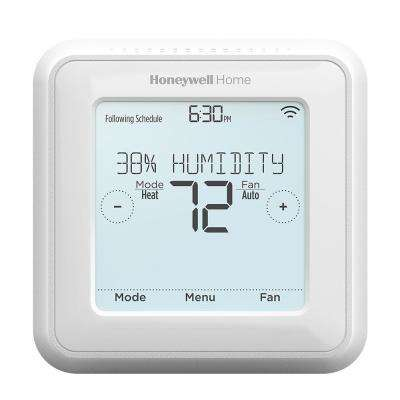 7-Day Programmable T5 Z-Wave Touchscreen Thermostat