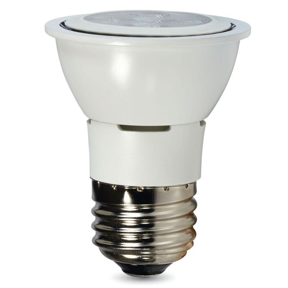 T10 led bulbs light bulbs the home depot contour series 35w equivalent warm white par16 flood led light bulb parisarafo Images