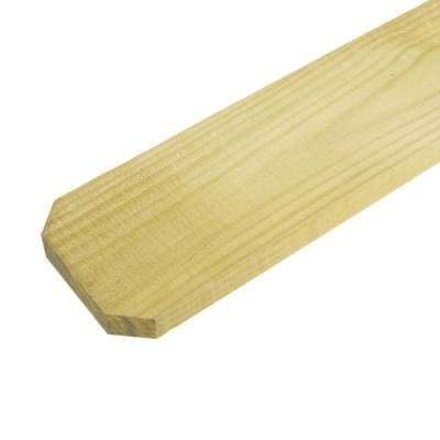 1/2 in. x 4 in. x 6 ft. Dog Ear Brazilian Pine Fence Picket (12-Pack)