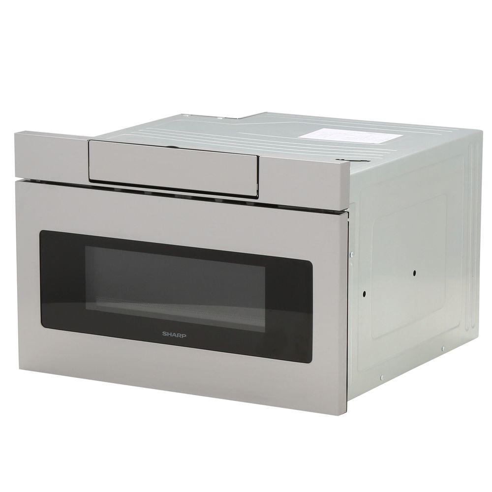 Microwave Drawer With Concealed Controls Built