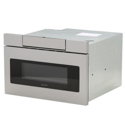 1.2 cu. ft. 24 in. Microwave Drawer with Concealed Controls, Built-In Stainless Steel with Sensor Cooking