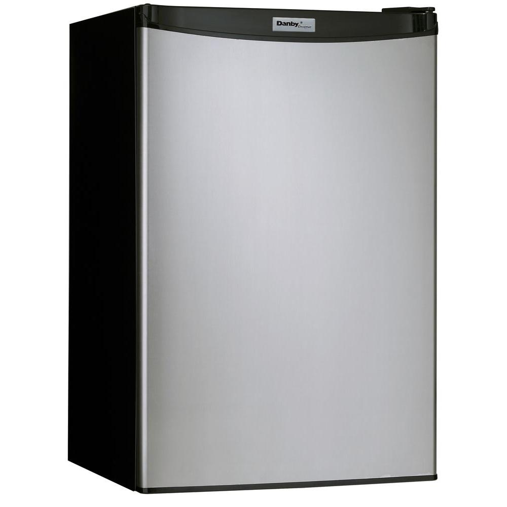 Danby 4.3 cu. ft. Mini Refrigerator in Stainless Look-DISCONTINUED
