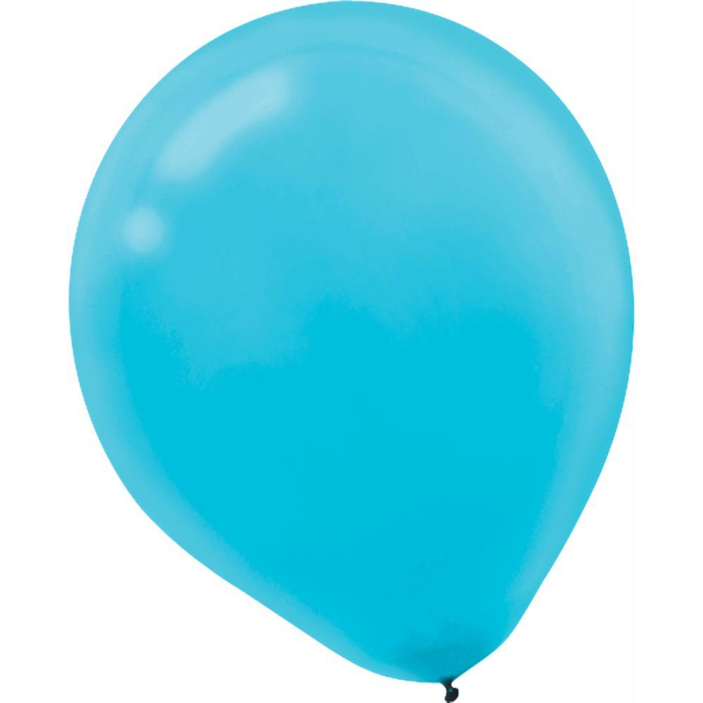 9 In Caribbean Blue Latex Balloons 20 Count 18 Pack